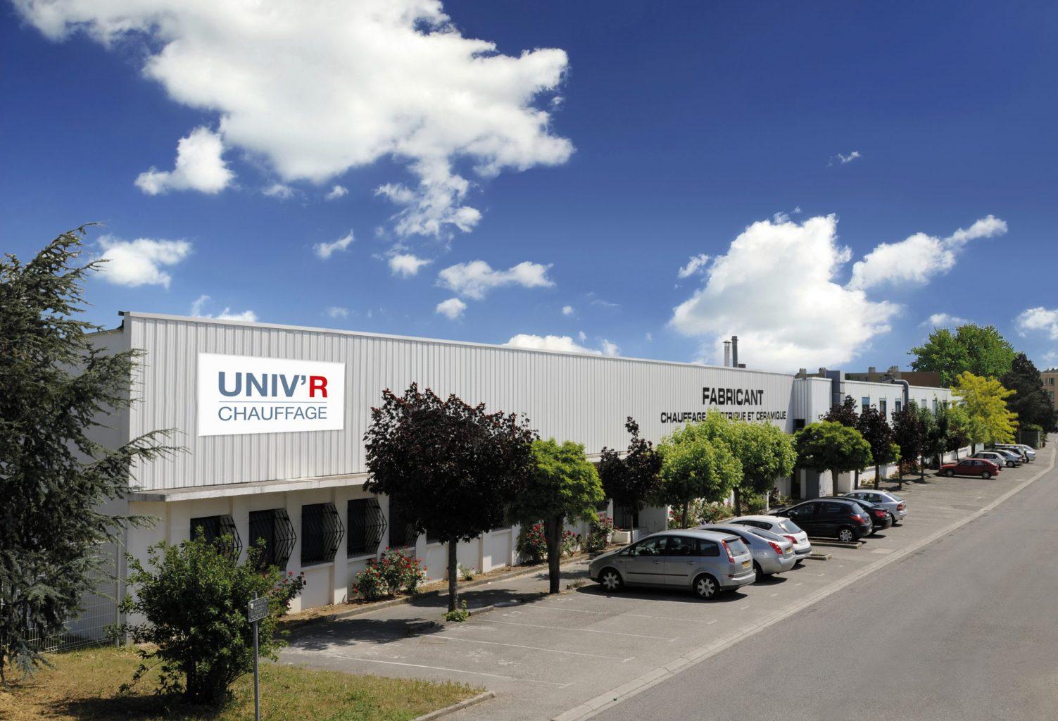Usine de l'entreprise Univ'R Chauffage